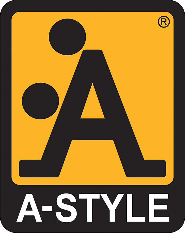 Funny logo fail by 'A Style' has a giant blackened out 'A' with two rounded black spots - which makes the entire thing look like a sexual position