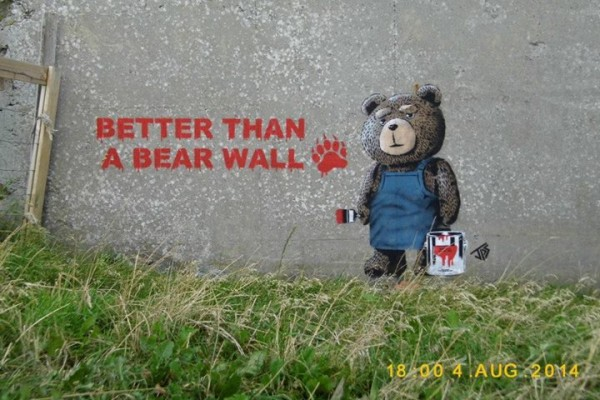 Better Than A Bear Wall by JPS