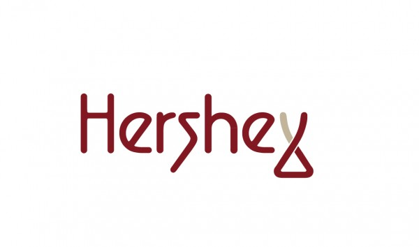 Alternative Hershey logo design by Pulky