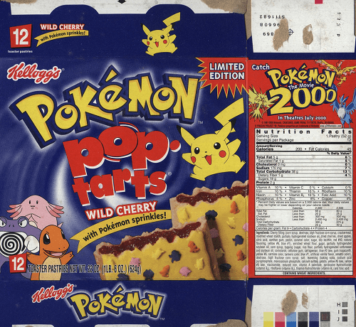 pokemon pop tarts