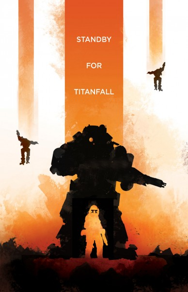 Titanfall poster by Dylan West