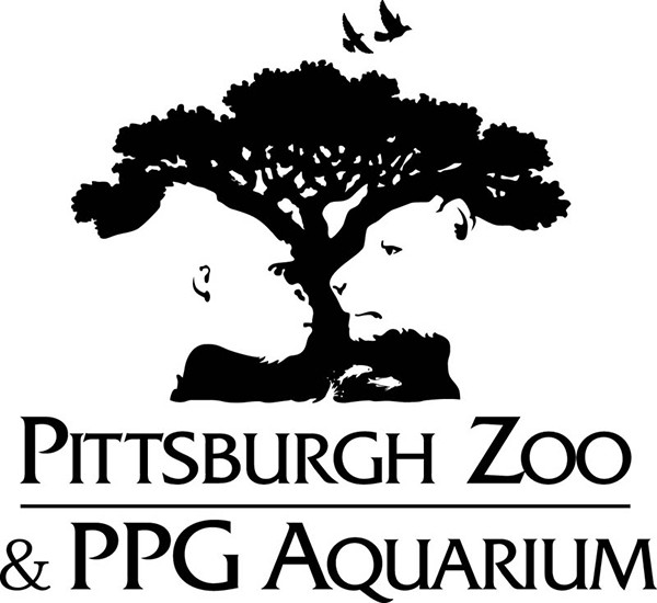 Clever design for the logo of Pittsburgh zoo
