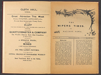 wipers times WW! print in the trenches