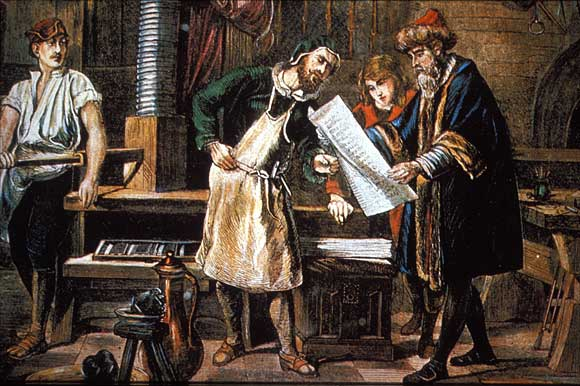 gutenberg and how print changed the world