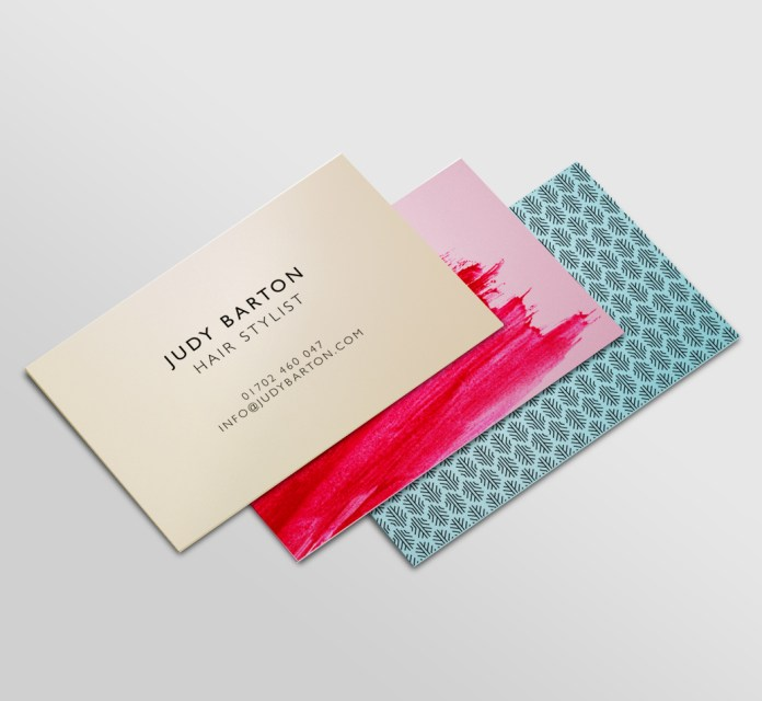 Solopress Metallic Business Cards