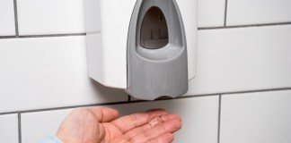 Hand Sanitiser Dispenser