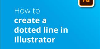 Create a dotted line in illustrator header image