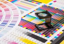 Colour in print marketing header