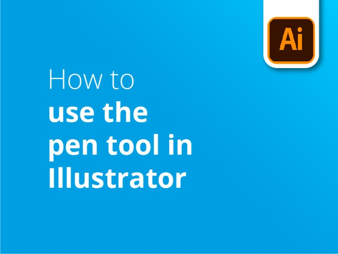 How to use the pen tool in Illustrator