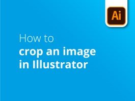 How to crop an image in Illustrator