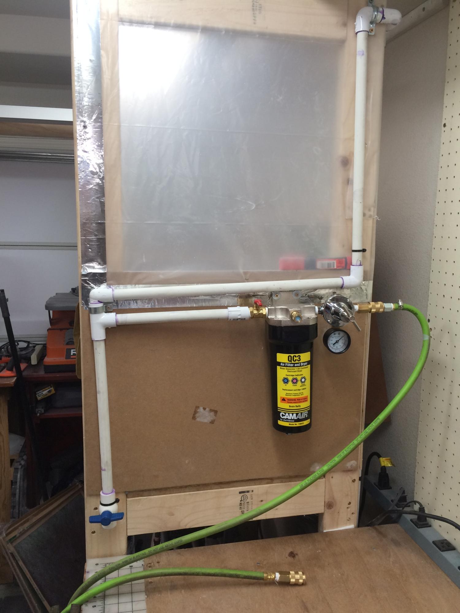 Hvlp Setup Compressor Upgrade Soloroboto Industries
