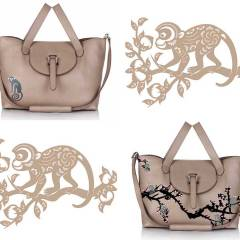 meli melo CHINESE NEW YEAR monkey BAG