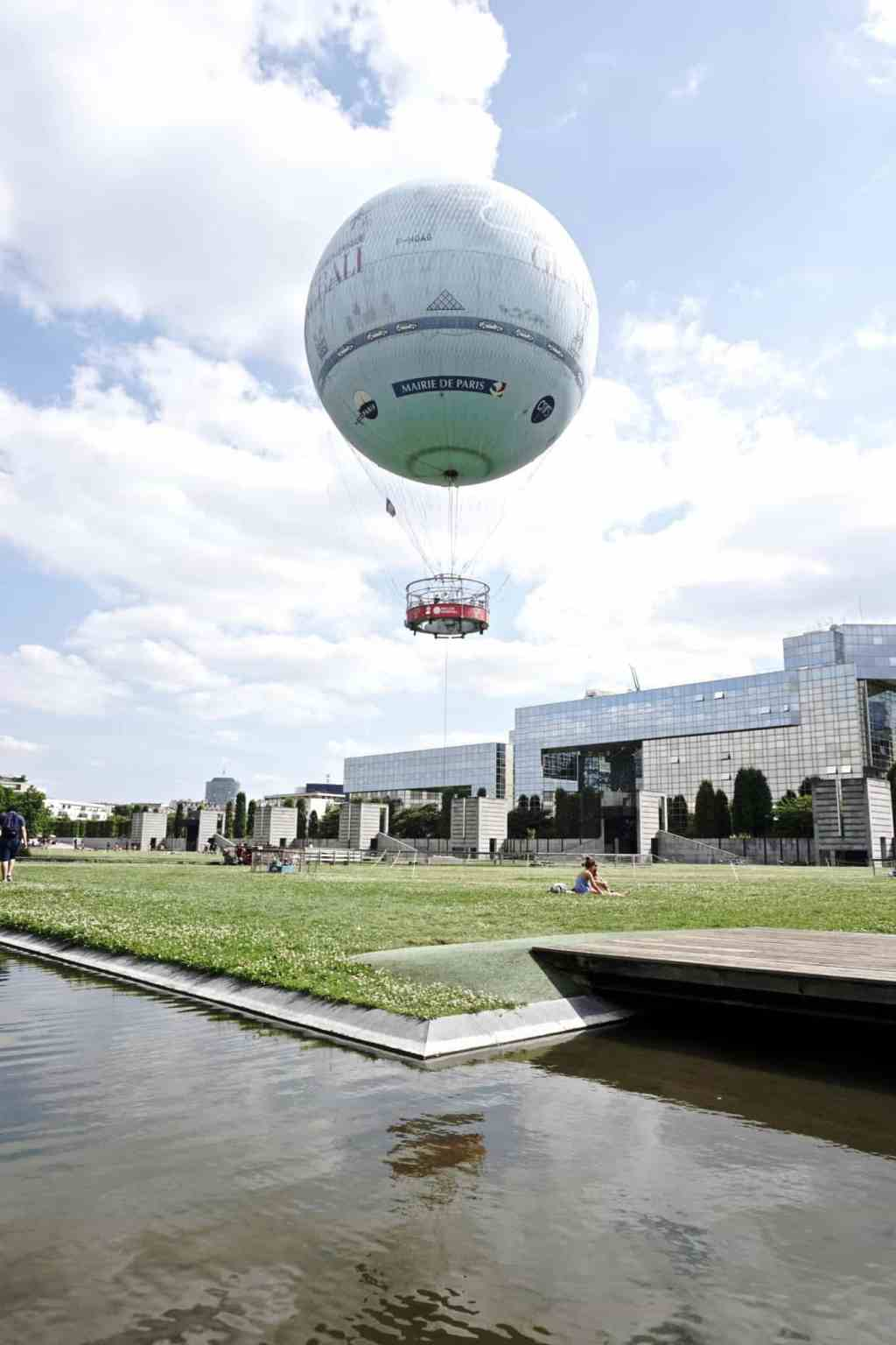 Parc Andre Citroen: An Oasis of Green With a Hot Air Balloon ...