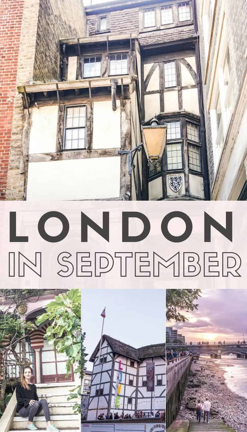 London In September What To See Where To Go Amp All The