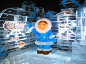 Entrance of the ICE! Exhibit, Gaylord Palms, Kissimmee, Fla., Nov. 2009