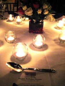 Table Setting at Michael's Tasting Room in Sarasota, Fla., Dec. 2010