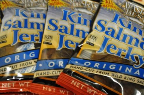 Alaska Souvenir - King Salmon Jerky, Purchased at Fred Meyer