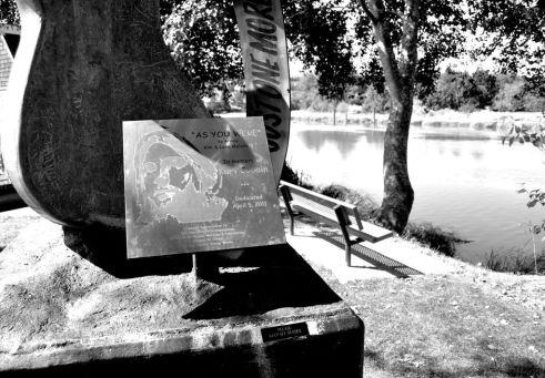 Be As You Were, Kurt Cobain Memorial, Riverfront Park, Aberdeen, Washington