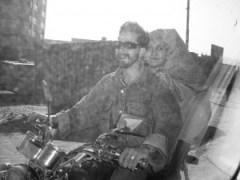 Biking Burqa, March 2006