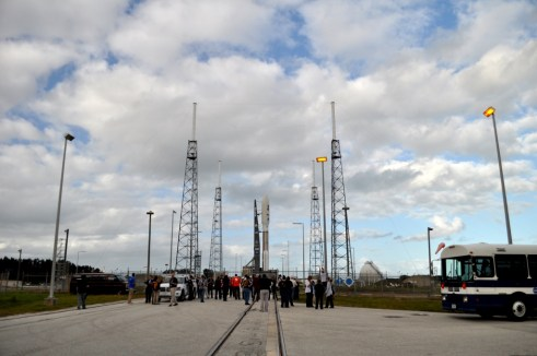 United Launch Alliance Atlas V Rocket with Tweeps, MSL NASATweetup, Cape Canaveral Air Force Station, Fla., Nov. 25, 2011