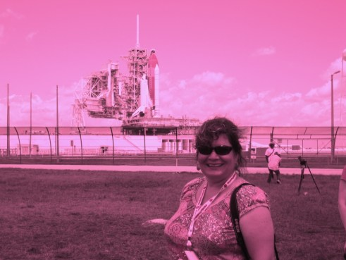 Me and Space Shuttle Endeavour, Kennedy Space Center, May 15, 2011