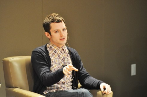 Wood Discussed FX Television Series 'Wilfred' in Which He Stars