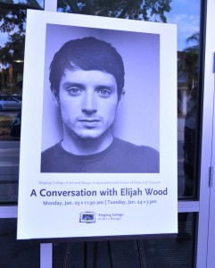 A Conversation with Elijah Wood, Ringling College of Art & Design, Sarasota, Fla., Jan. 24, 2012