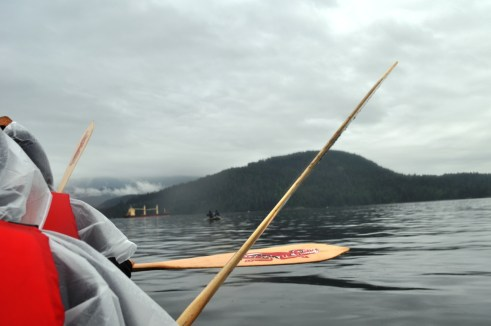 Canoeing with Tsleil-Waututh First Nation, Vancouver, B.C.