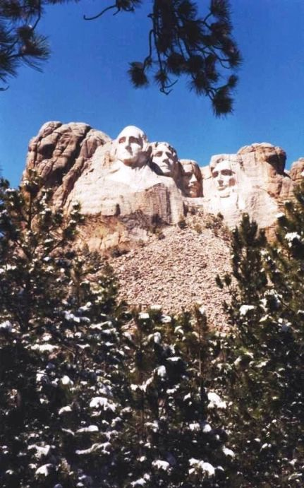 Mount Rushmore, S.D., April 1994