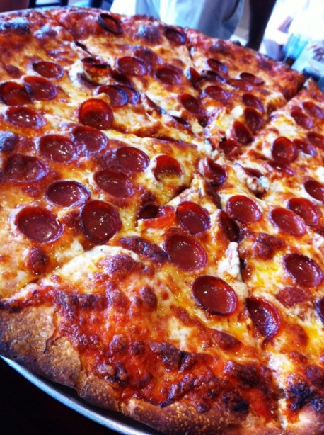 Small Pepperonis and Lots of Cheese Make it Buffalo-Style