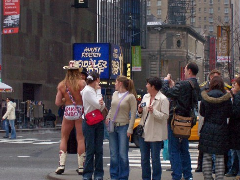 Have Ya Met the Naked Cowboy During a Trip to the Big Apple?