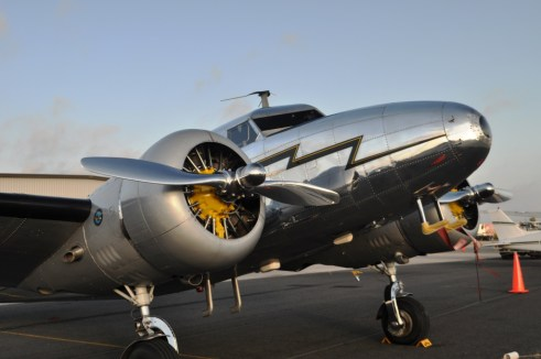 "This Lockheed L-12, is from the Late 1930s and Appeared in the 2009 Movie ""Amelia"" starring Hilary Swank and Will Appear in ""42"" Starring Chadwcik Boseman, Alan Tudyk and Harrison Ford"