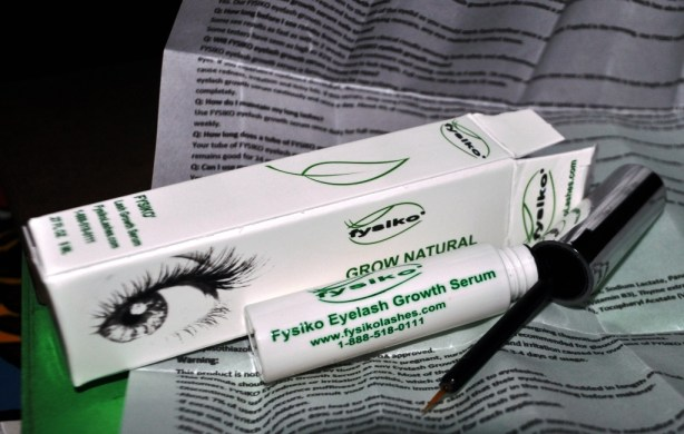 My 16-Week Supply of Fysiko EyeLash Growth Serum, May 12, 2013