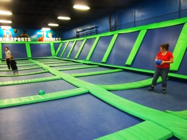 Getting Bouncy at AirHeads Trampoline Arena, Orlando, Fla.