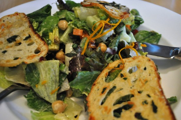 Garden Chop Salad, Cupcake Lovers Weekend, Hilton Orlando Bonnet Creek, Orlando, Fla., June 15, 2013