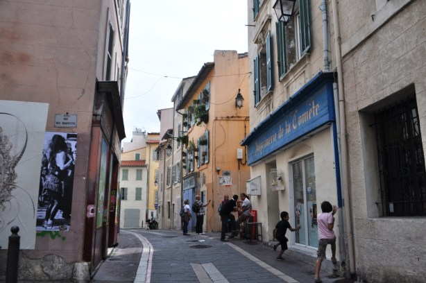 Kids Playing in Le Panier, Marseille's Oldest Neighborhood