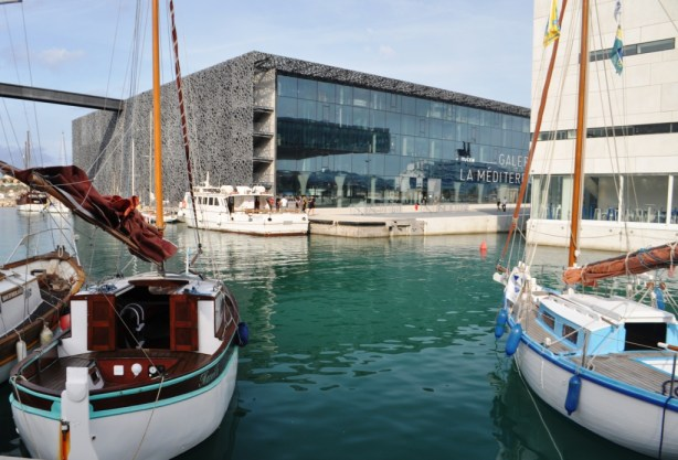 Museum of European and Mediterranean (MuCEM) is a Stunning Work of Architecture and Contains Art Representing Mediterranean Culture, Marseille-Provence, France