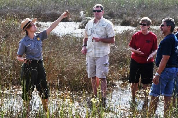 Ranger Led Program in Shark Valley, Everglades National Park, Fla.