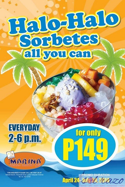 Marina Halo-Halo and Sorbetes All You Can