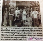 Marina Bloggers Featured in Philippine Daily Inquirer