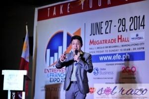 Celebrity Entrepreneur RJ Ledesma gives tips on vision setting on the road to entrepreneurship