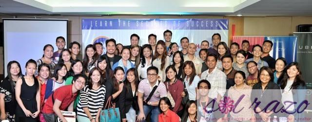 Entrepreneur Success Summit 2014 speakers together with aspiring entrepreneurs