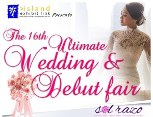 Wedding and Debut Fair 2015 on January 3-4