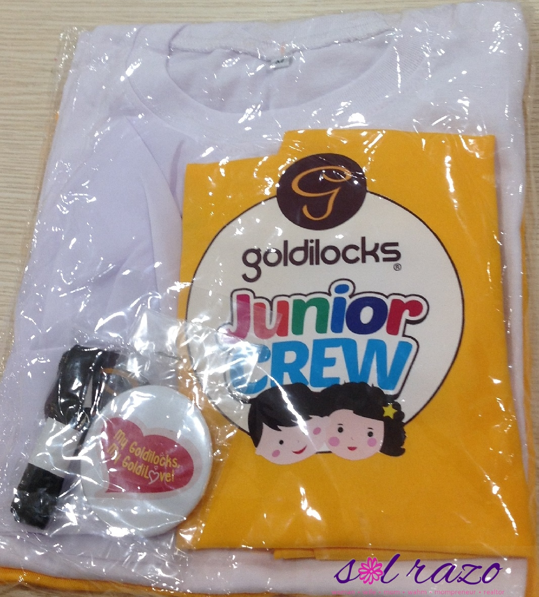 Goldilocks Junior Crew 2015 Kit