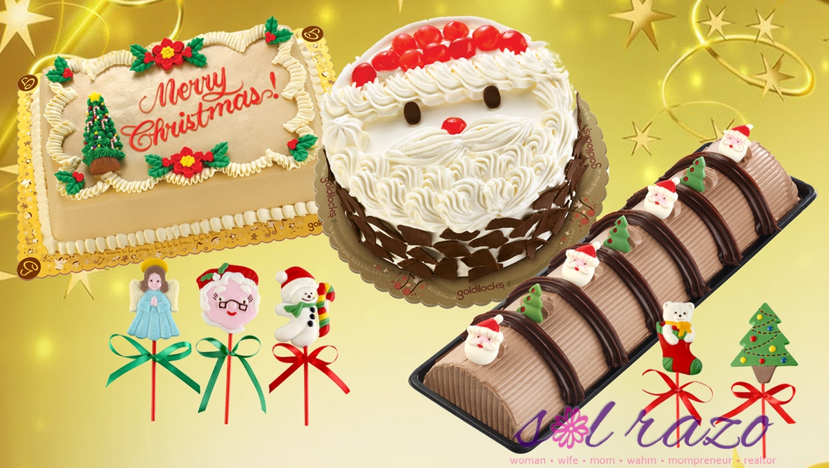 Goldilocks Goldi-good cakes for Christmas
