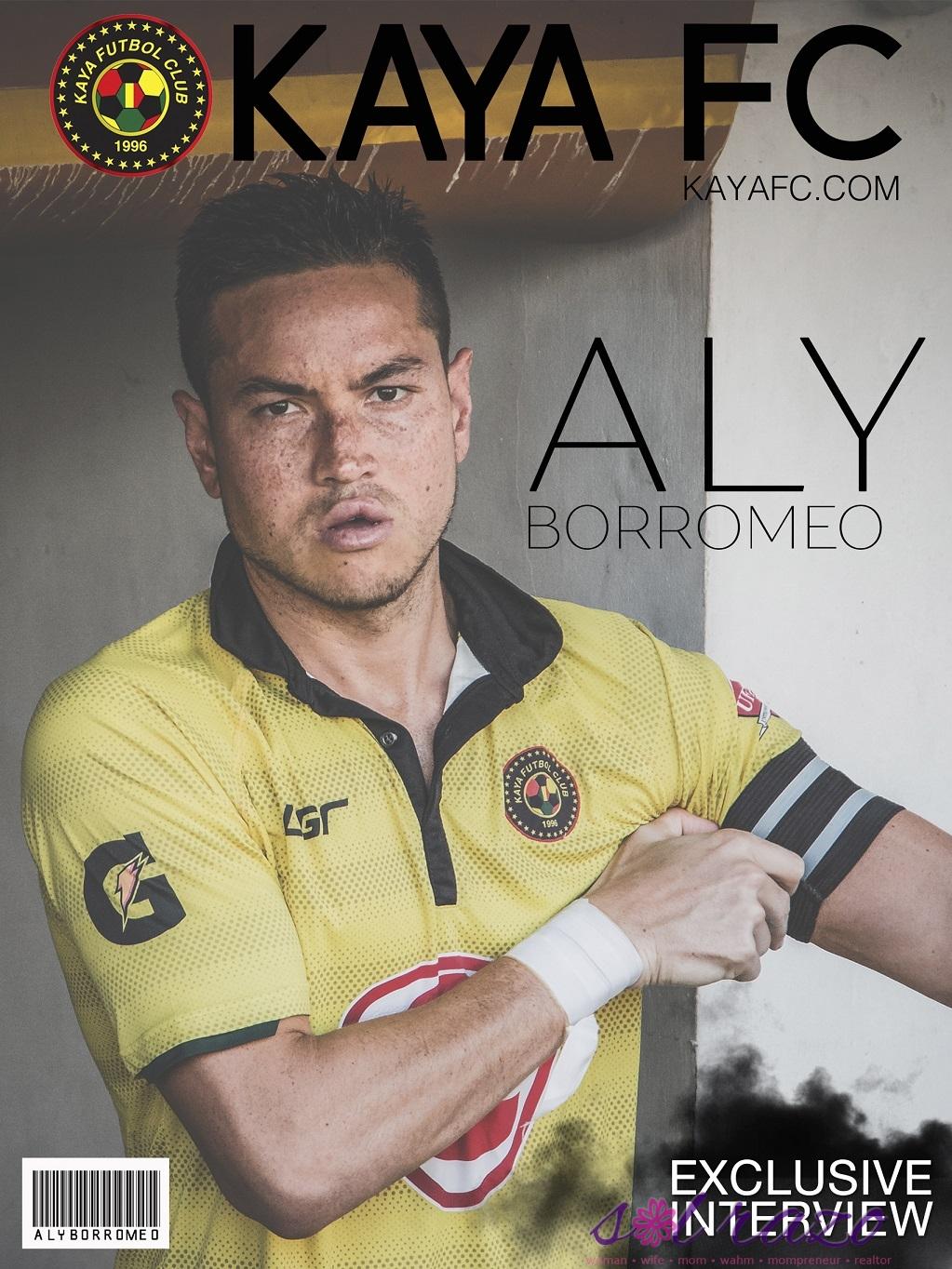 KAYA Team Captain Aly Borromeo