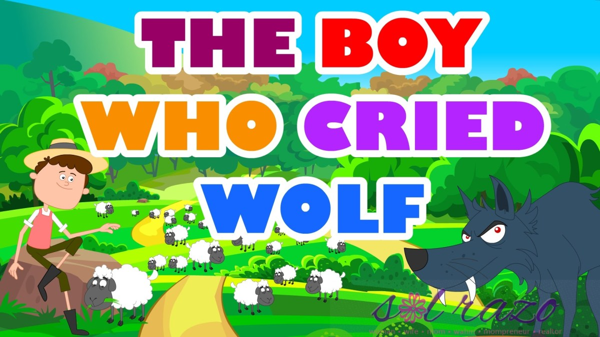 "Lessons from ""The boy who cried wolf"""