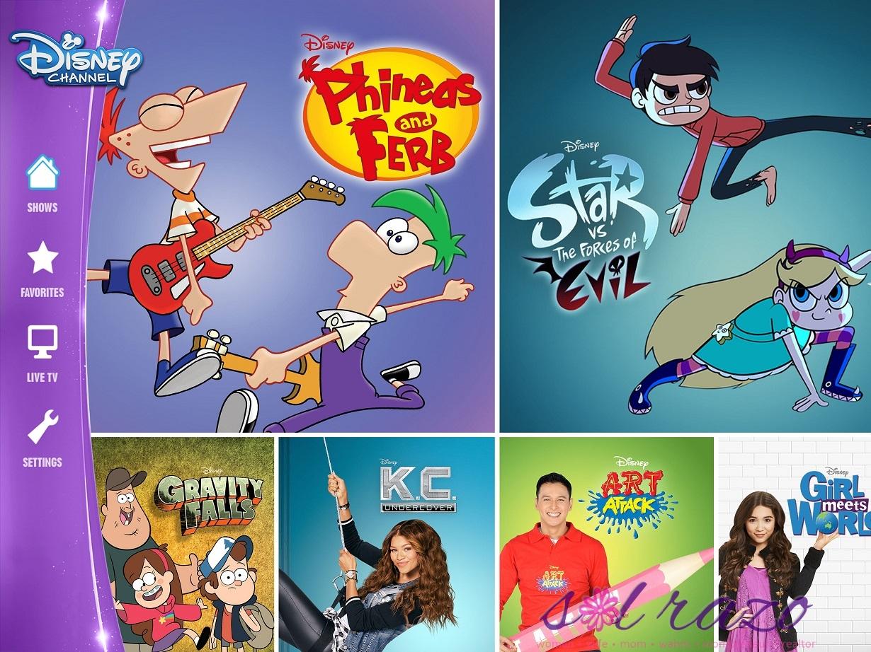 Disney Channels Apps