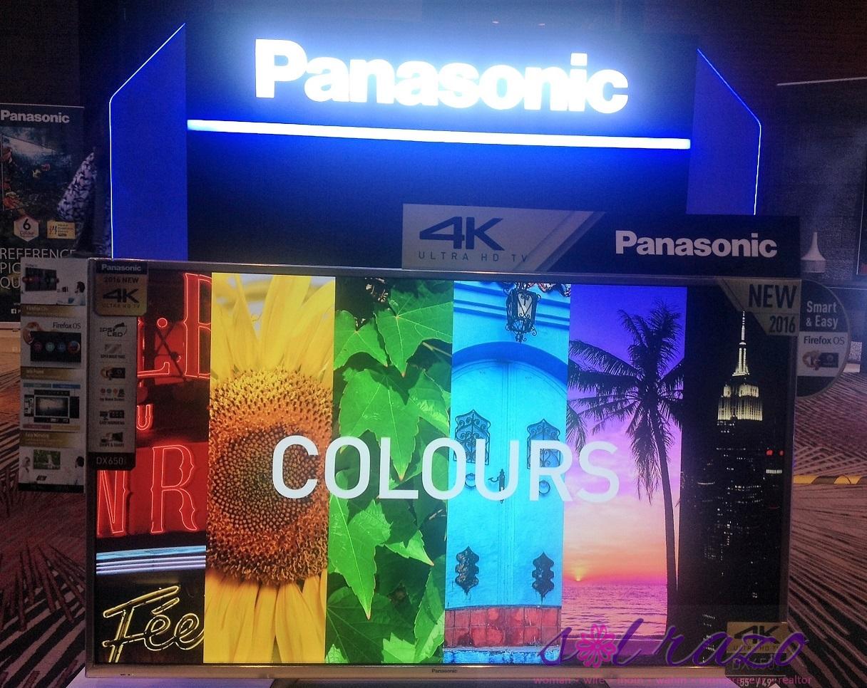 Panasonic color features