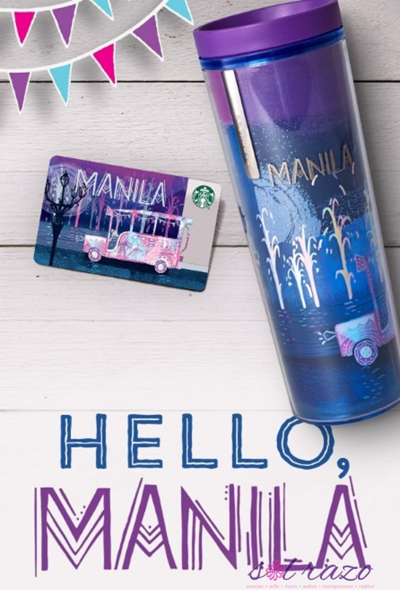 Manila Starbucks Card available on August 8!